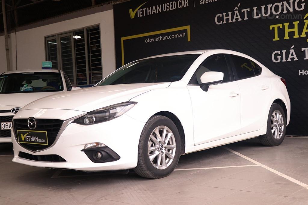 Mazda 3 1.5AT 2016, xe màu trắng đẹp như mới (2)