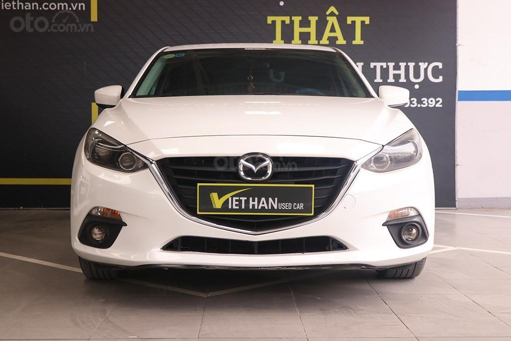 Mazda 3 1.5AT 2016, xe màu trắng đẹp như mới (3)