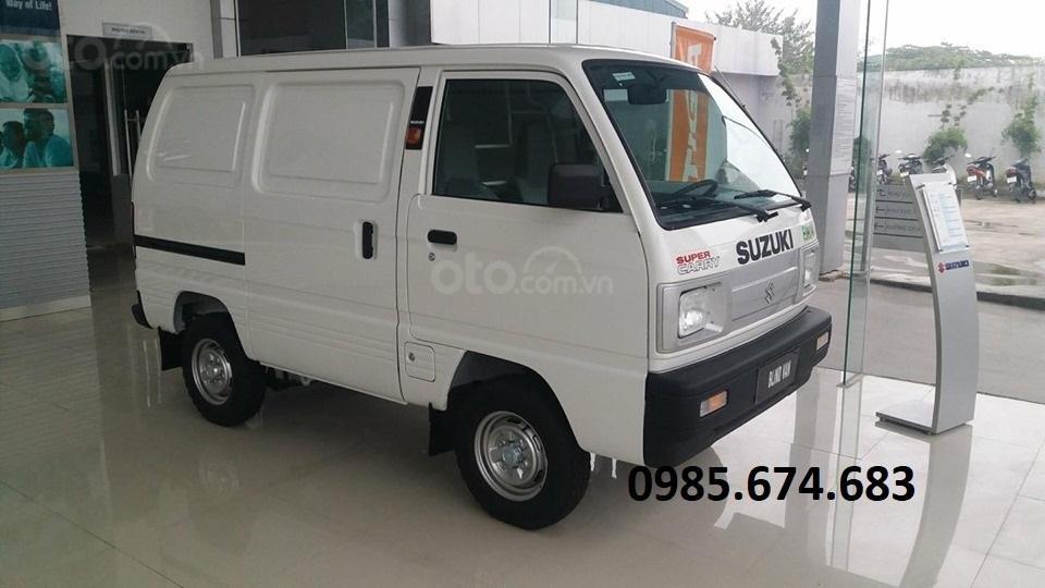 Bán xe tải Van xe tải cóc Suzuki Blind Van 2020 không cấm phố (1)