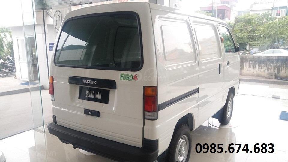 Bán xe tải Van xe tải cóc Suzuki Blind Van 2020 không cấm phố (5)