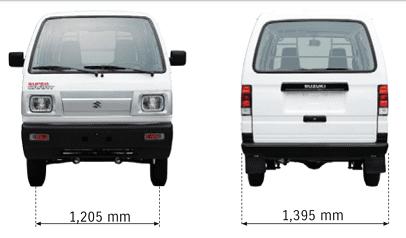 Bán xe tải Van xe tải cóc Suzuki Blind Van 2020 không cấm phố (6)