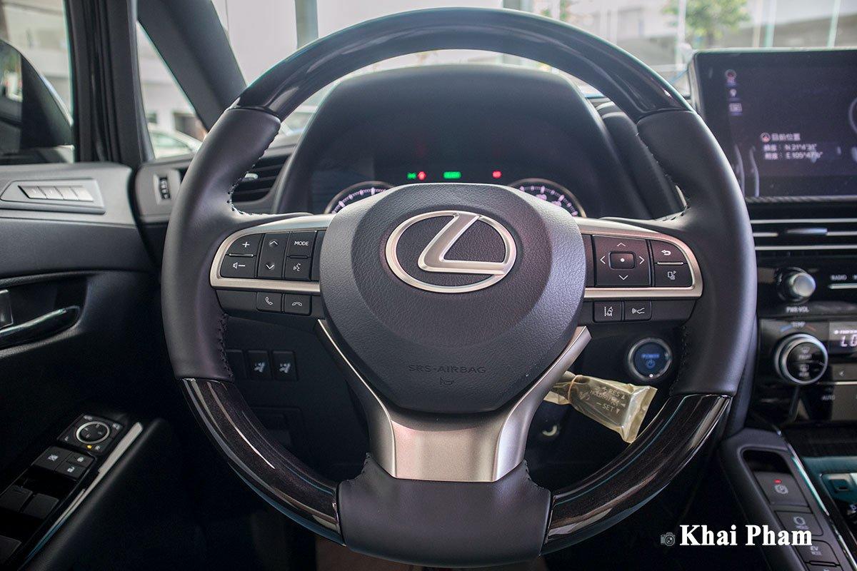 Ảnh vô-lăng xe Lexus LM300h 2020