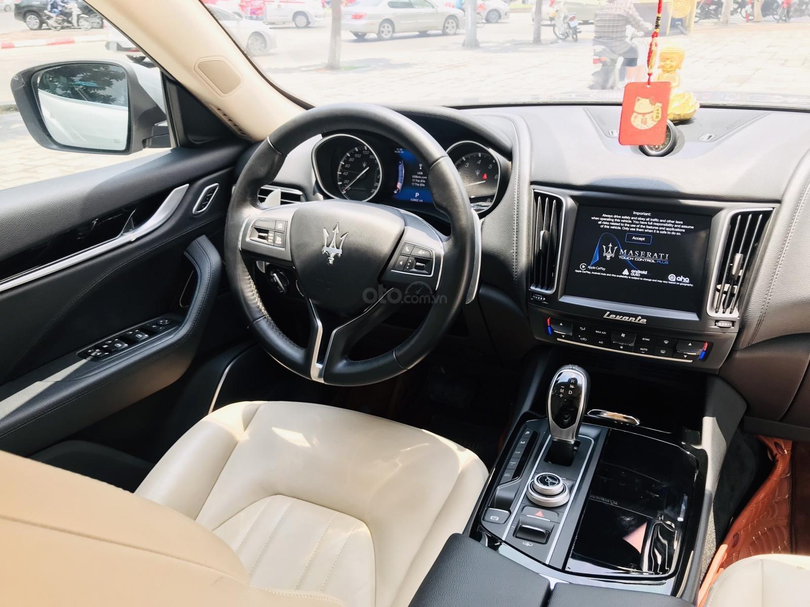 Maserati Levante sản xuất 2017, siêu lướt 10.690km, nhập khẩu Châu Âu (14)