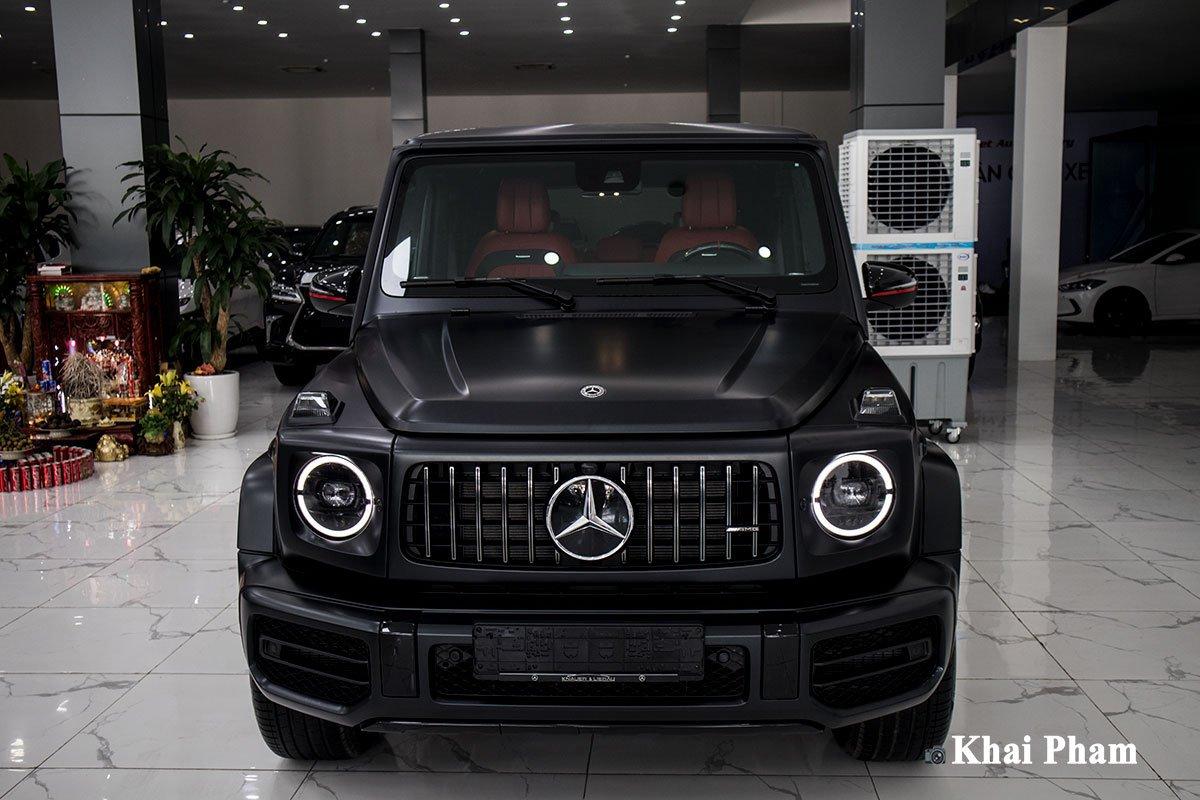 Ảnh chính diện đầu xe Mercedes-Benz G63 Trail Package 2020