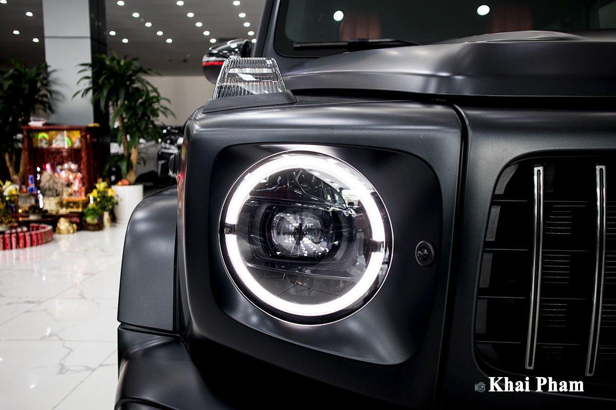 Ảnh đèn pha xe Mercedes-Benz G63 Trail Package 2020