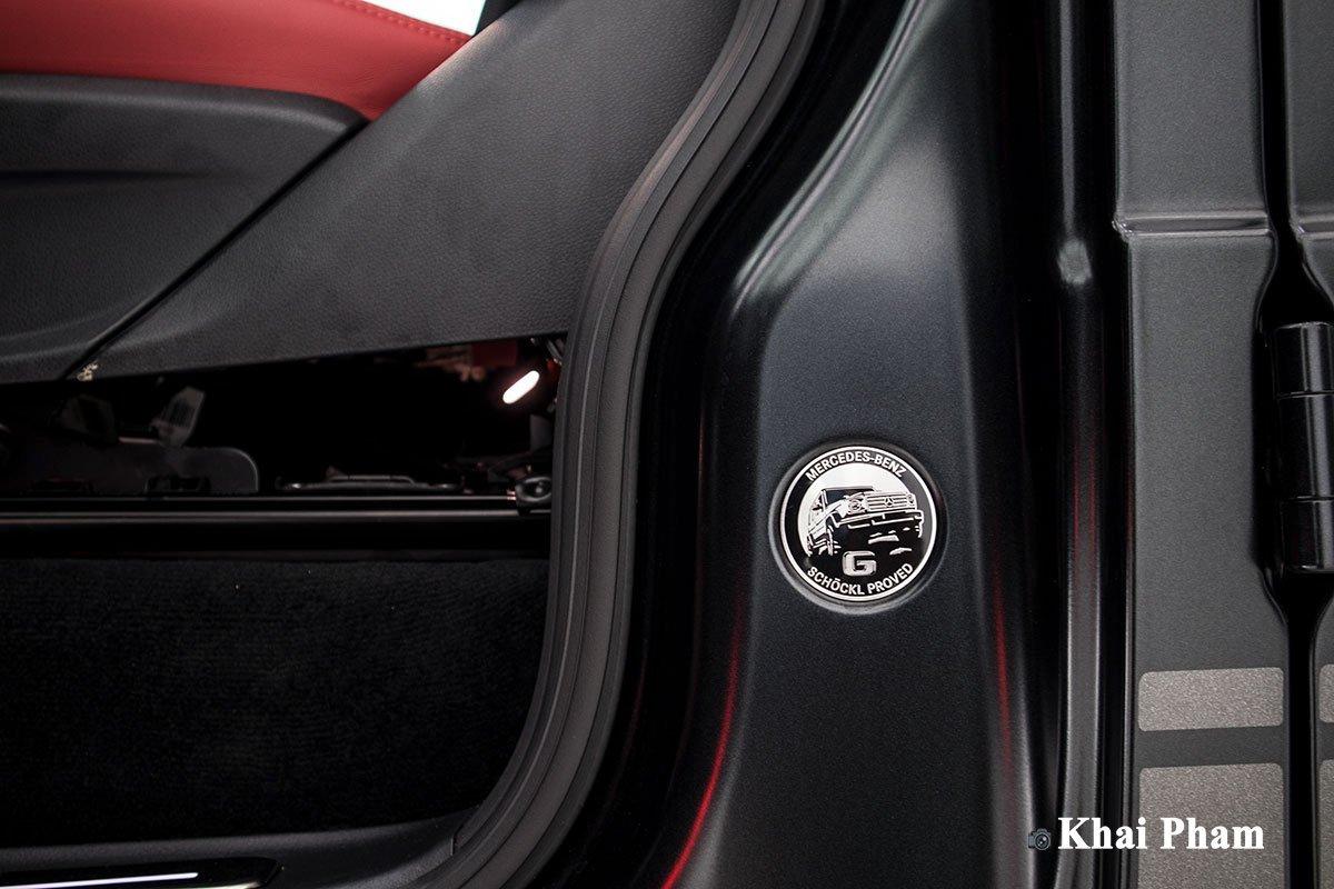 Ảnh logo xe Mercedes-Benz G63 Trail Package 2020