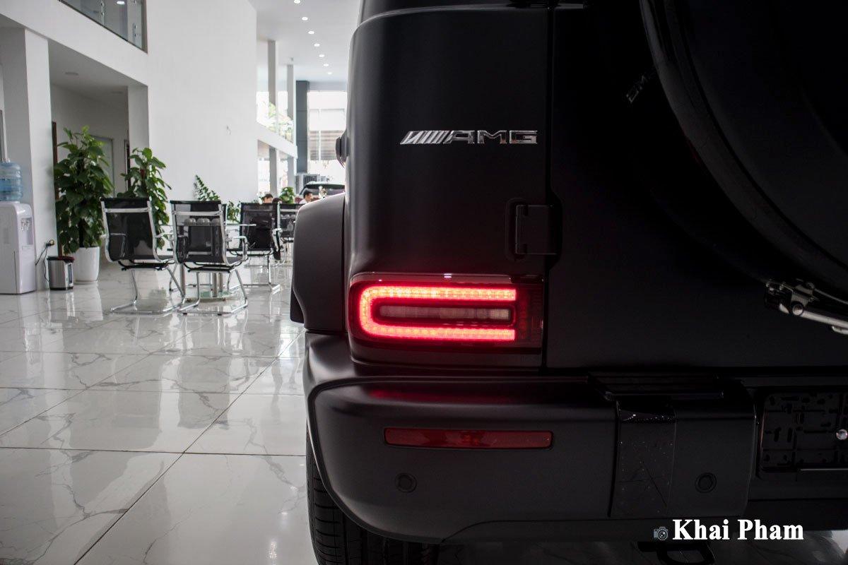Ảnh đèn hậu xe Mercedes-Benz G63 Trail Package 2020