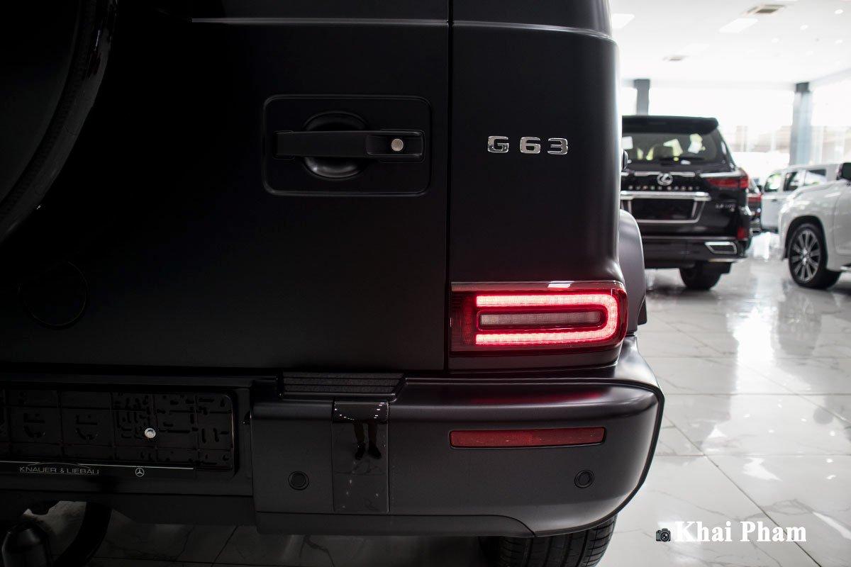 Ảnh đèn hậu xe Mercedes-Benz G63 Trail Package 2020 a1