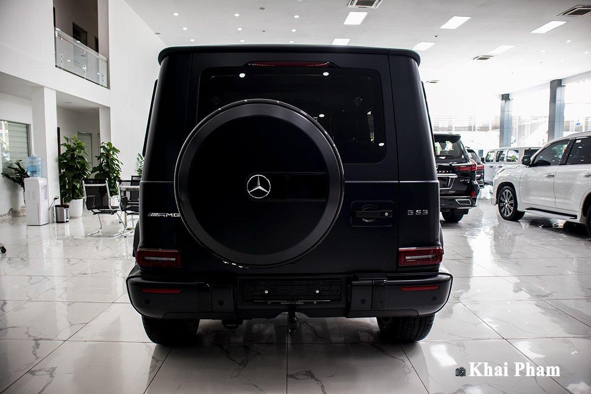 Ảnh đuôi xe Mercedes-Benz G63 Trail Package 2020