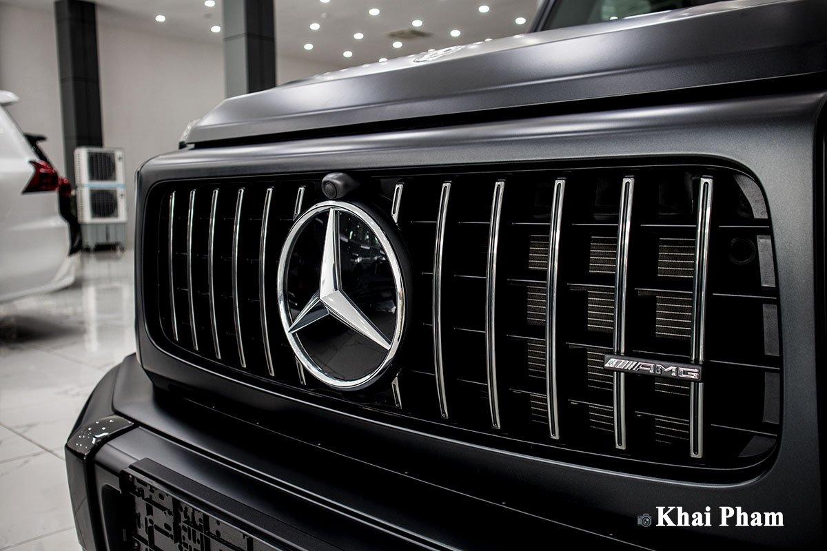 Ảnh lưới tản nhiệt xe Mercedes-Benz G63 Trail Package 2020