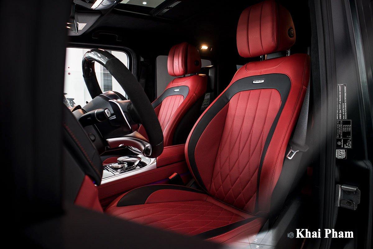 Ảnh ghế lái xe Mercedes-Benz G63 Trail Package 2020
