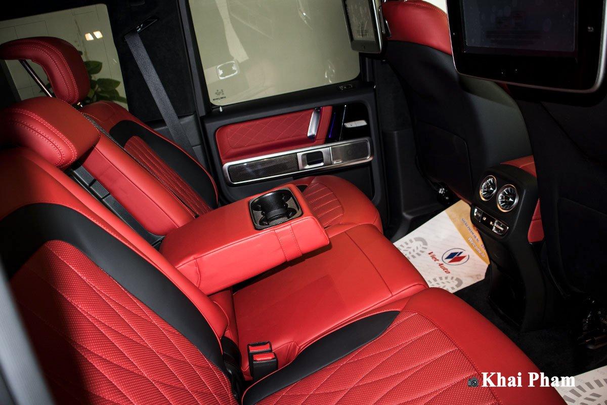 Ảnh ghế sau xe Mercedes-Benz G63 Trail Package 2020