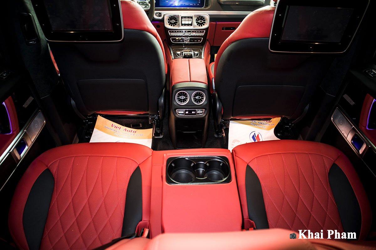 Ảnh ghế sau xe Mercedes-Benz G63 Trail Package 2020 a1