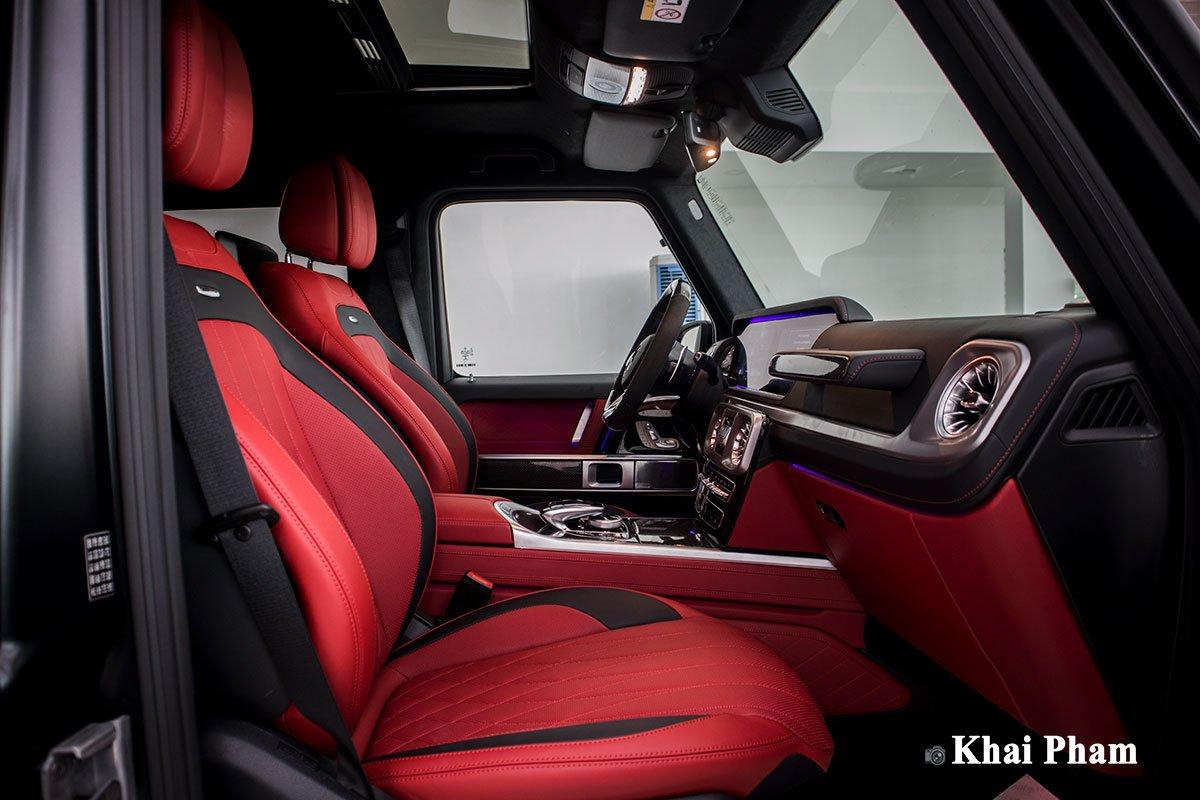 Ảnh ghế phụ xe Mercedes-Benz G63 Trail Package 2020 a1