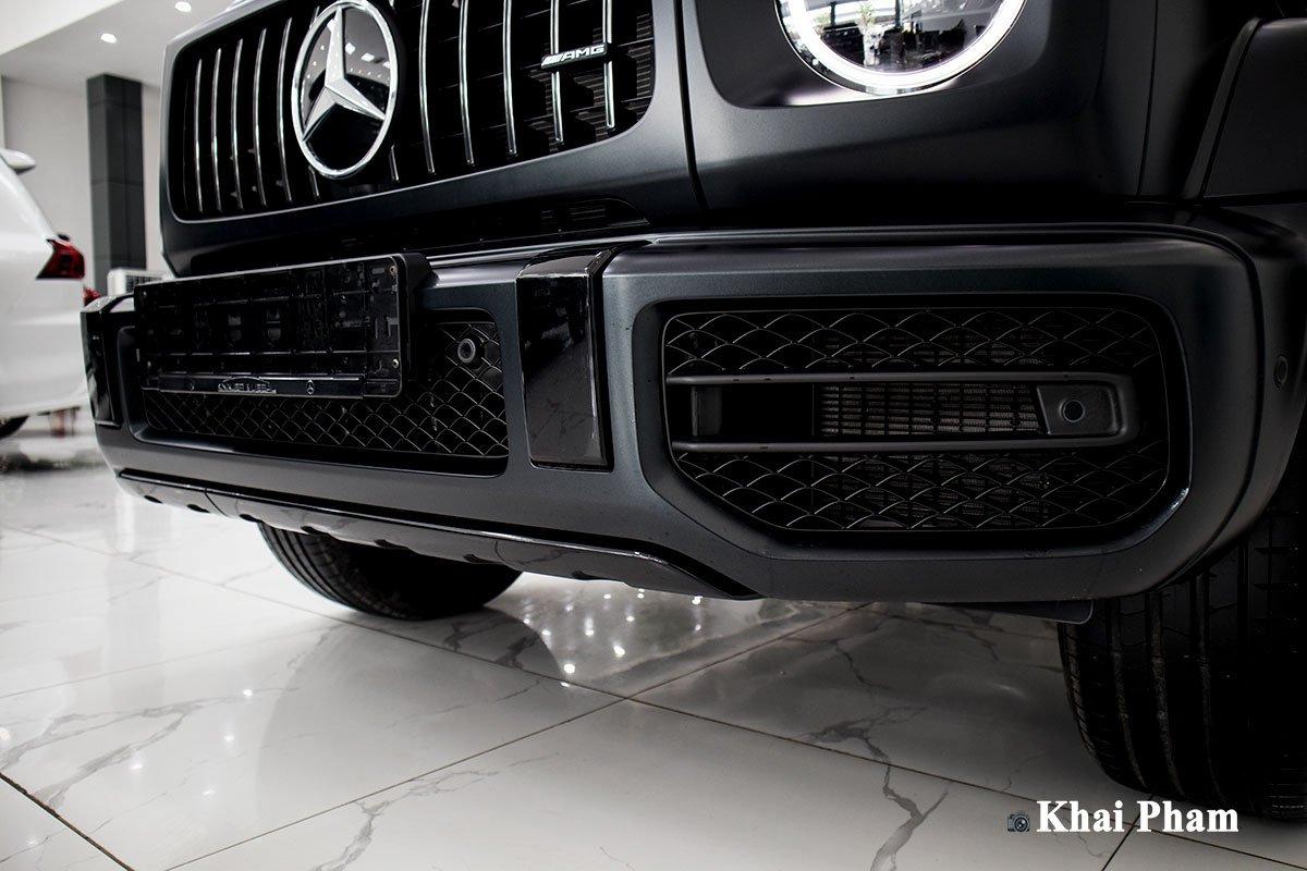 Ảnh riêng đầu xe Mercedes-Benz G63 Trail Package 2020