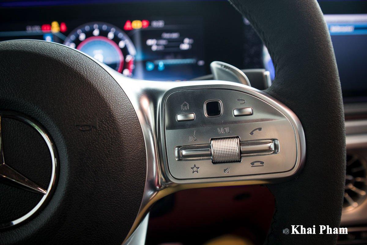 Ảnh nút bấm xe Mercedes-Benz G63 Trail Package 2020 a1