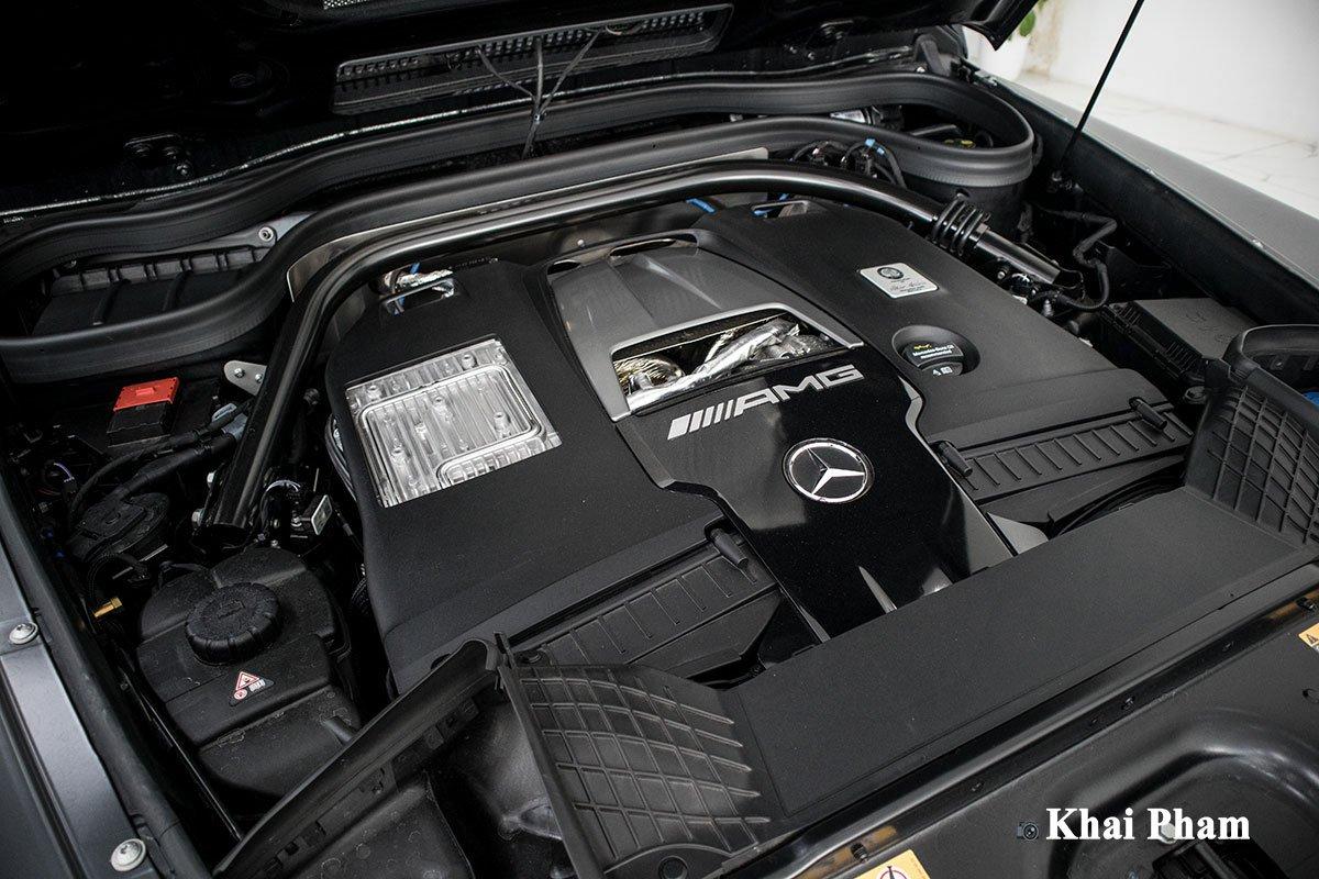 Ảnh sau đuôi xe Mercedes-Benz G63 Trail Package 2020
