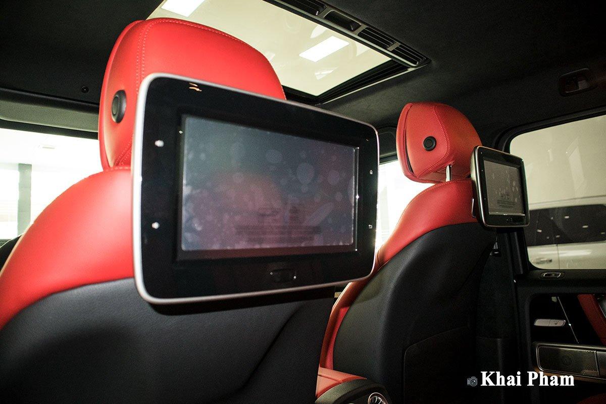 Ảnh màn hình sau Mercedes-Benz G63 Trail Package 2020