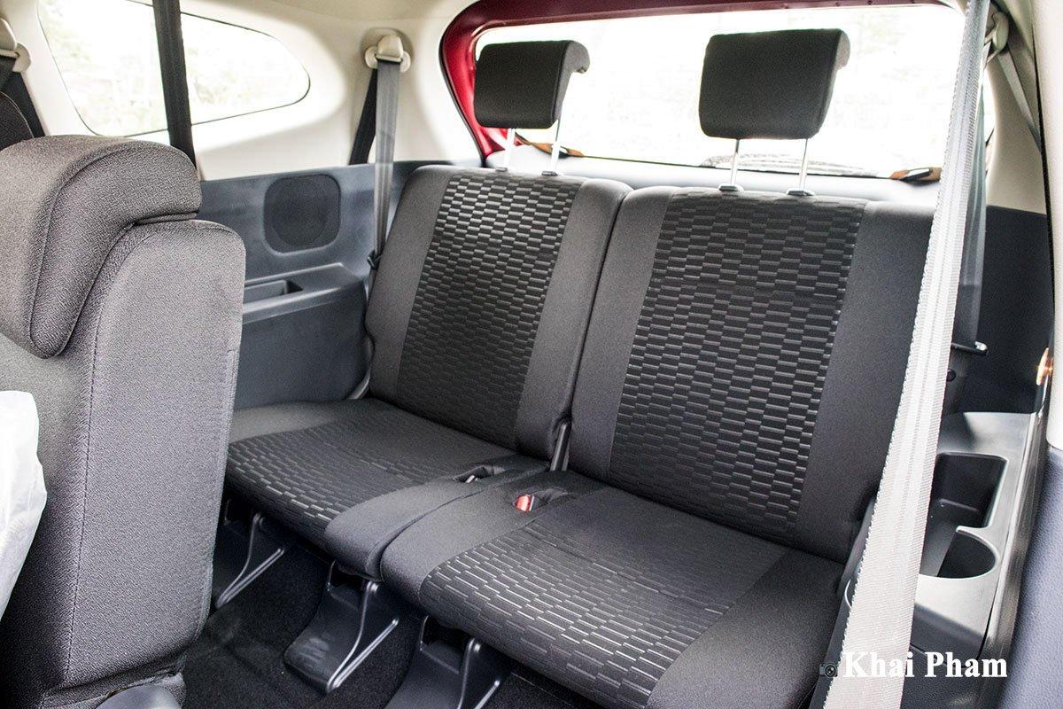 Ảnh Hàng 3 xe Toyota Rush 2020