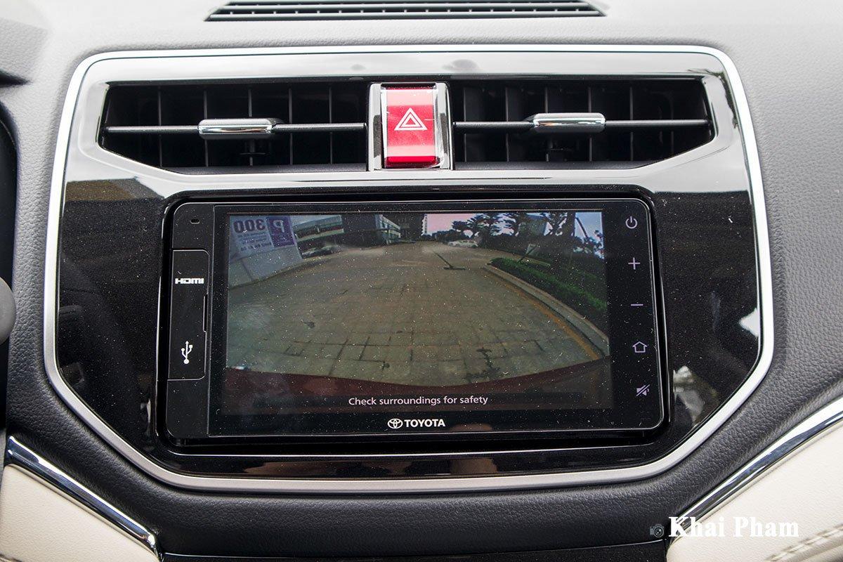 Ảnh Camera lùi  xe Toyota Rush 2020