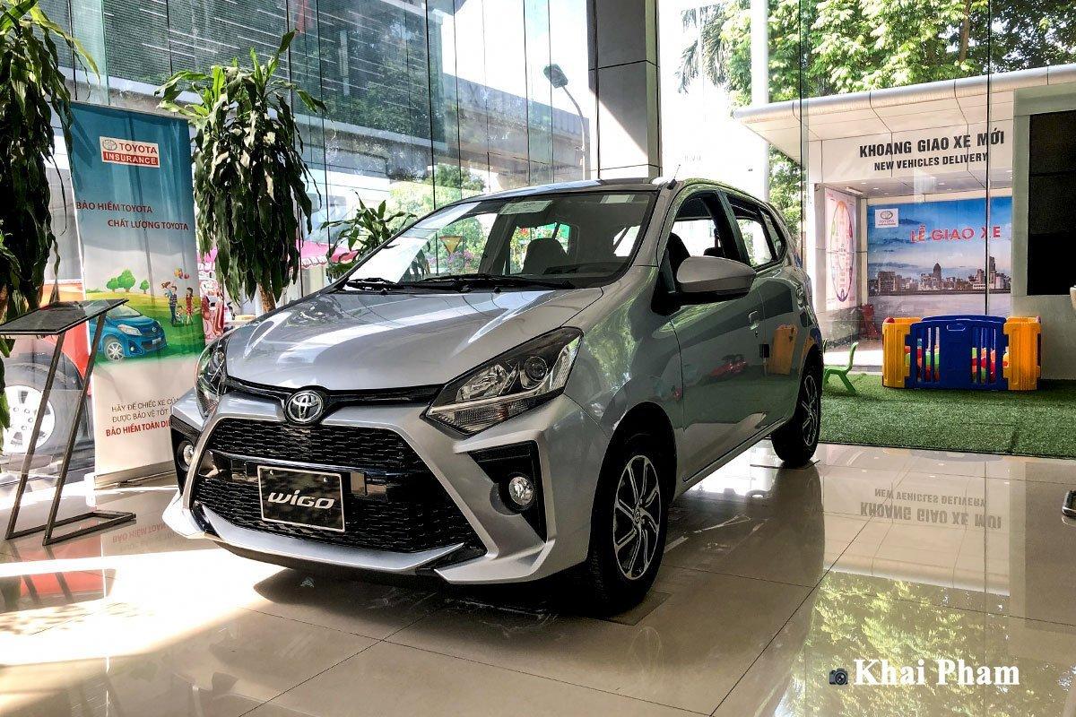 Bảng giá bán xe Toyota Wigo cập nhật mới