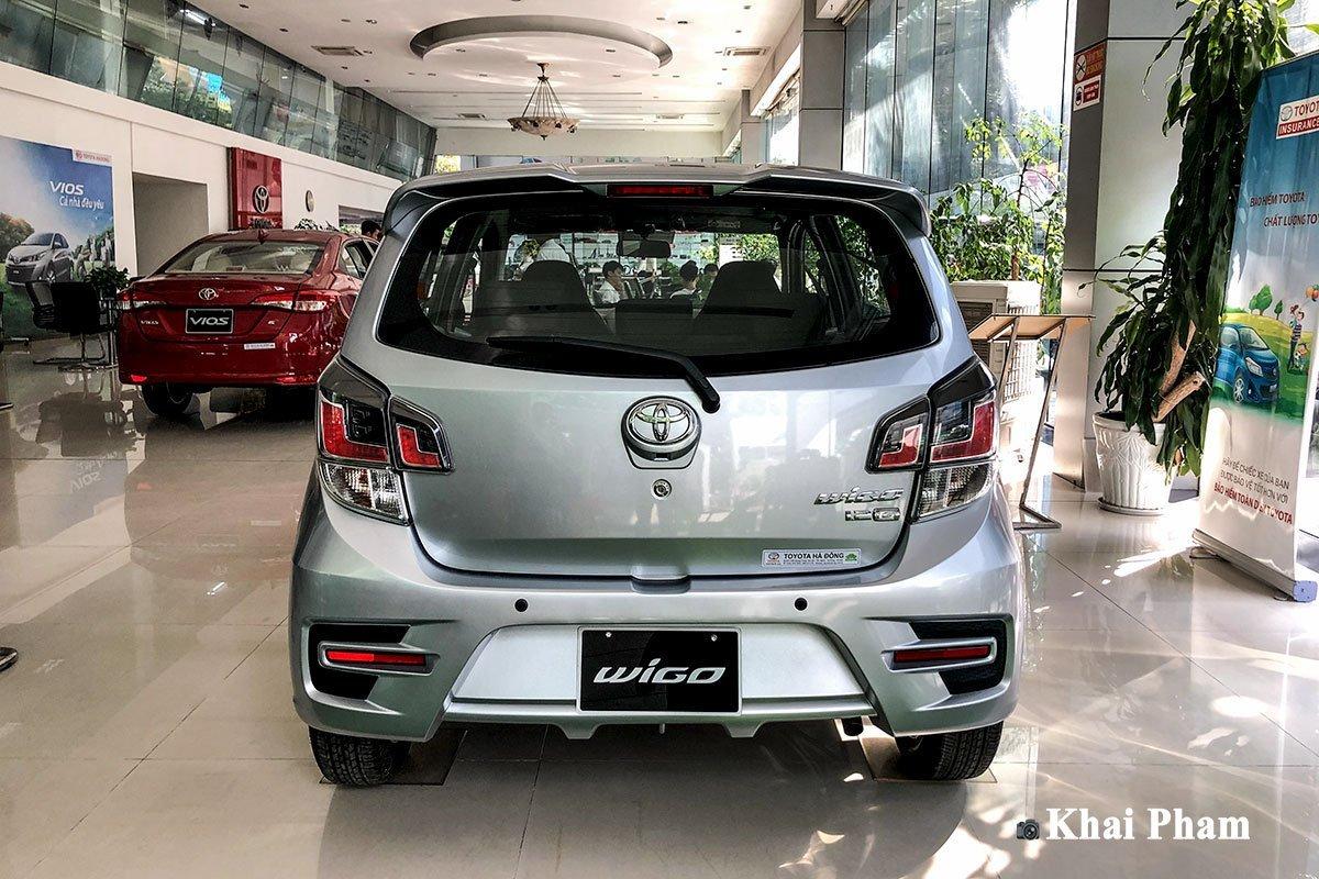 Thiết kế đuôi xe Toyota Wigo 2020