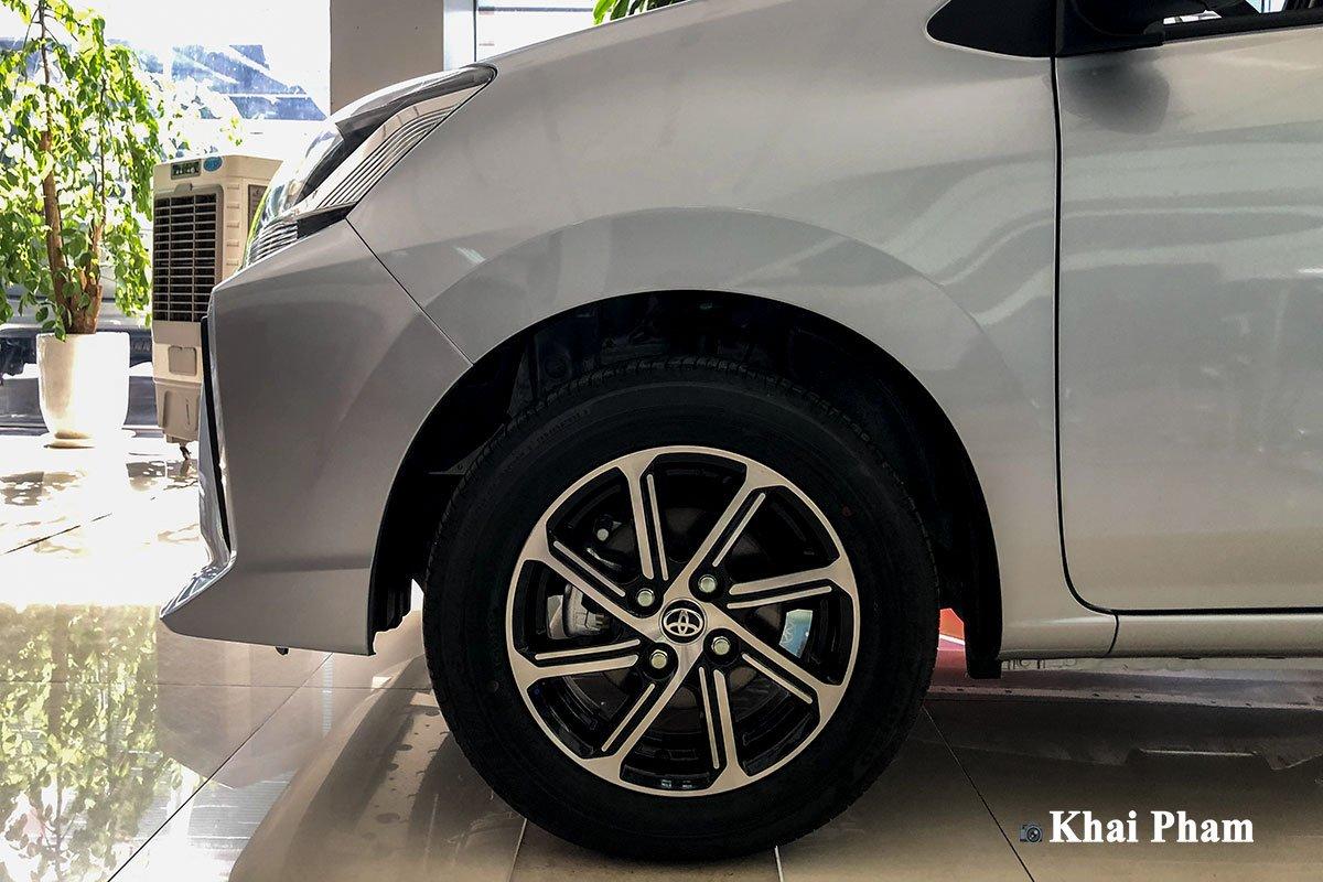 Ảnh la-zăng xe Toyota Wigo 2020