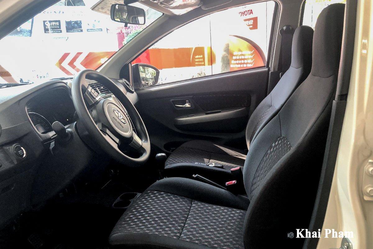 Ảnh ghế lái xe Toyota Wigo 2020