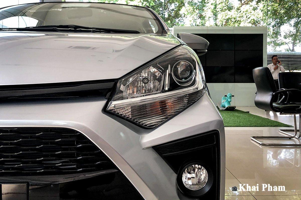 Ảnh đèn pha xe Toyota Wigo 2020 q1