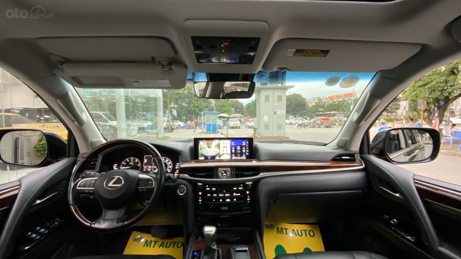 Bán xe Lexus LX 570 08 chỗ nhập Mỹ, LH Ms Hương màu đen, sản xuất 2016 giá tốt xe giay toàn quốc (8)