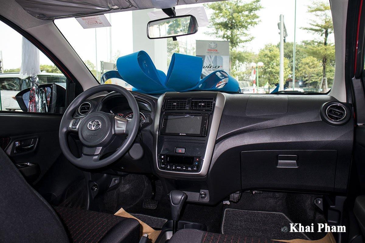 Ảnh Bảng táp-lô xe Toyota Wigo 2020