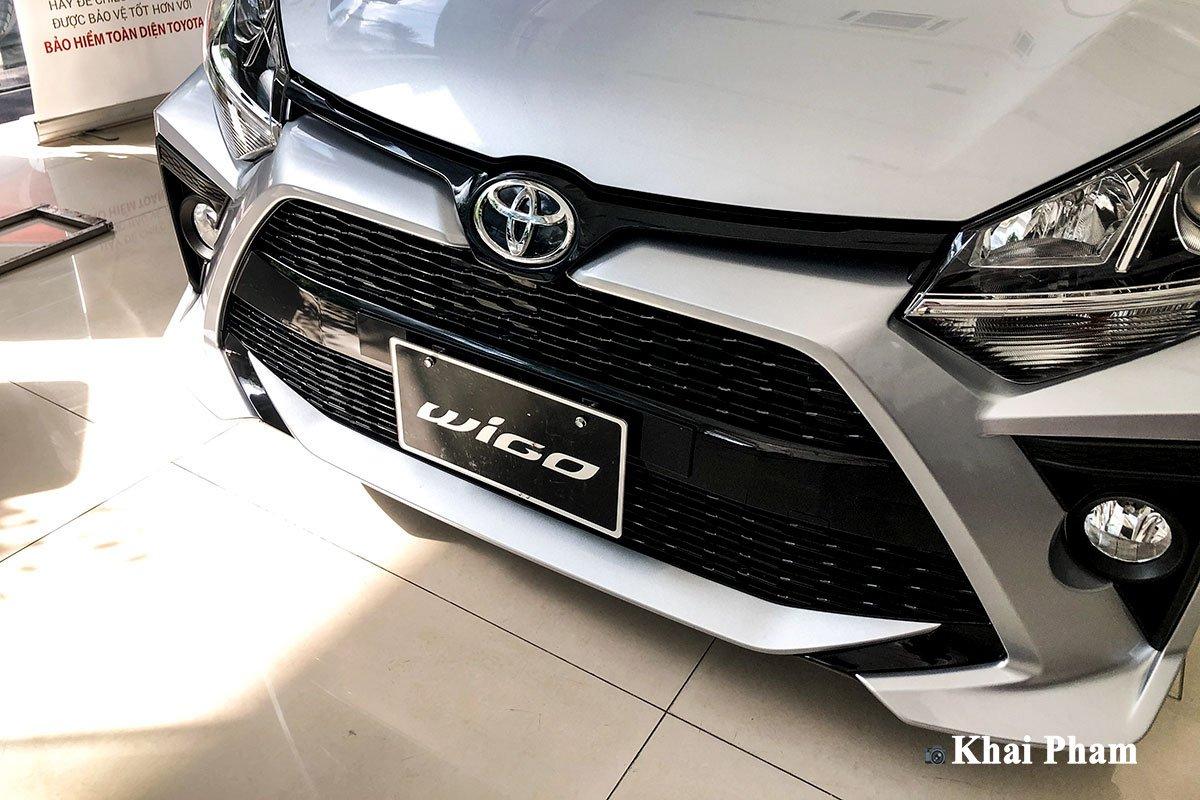 Ảnh Lưới tản nhiệt xe Toyota Wigo 2020