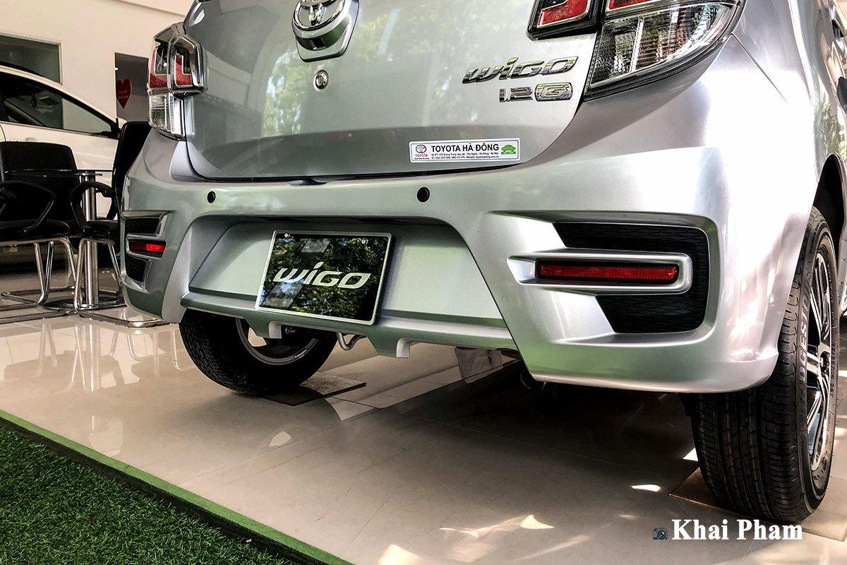 Ảnh Cản sau xe Toyota Wigo 2020