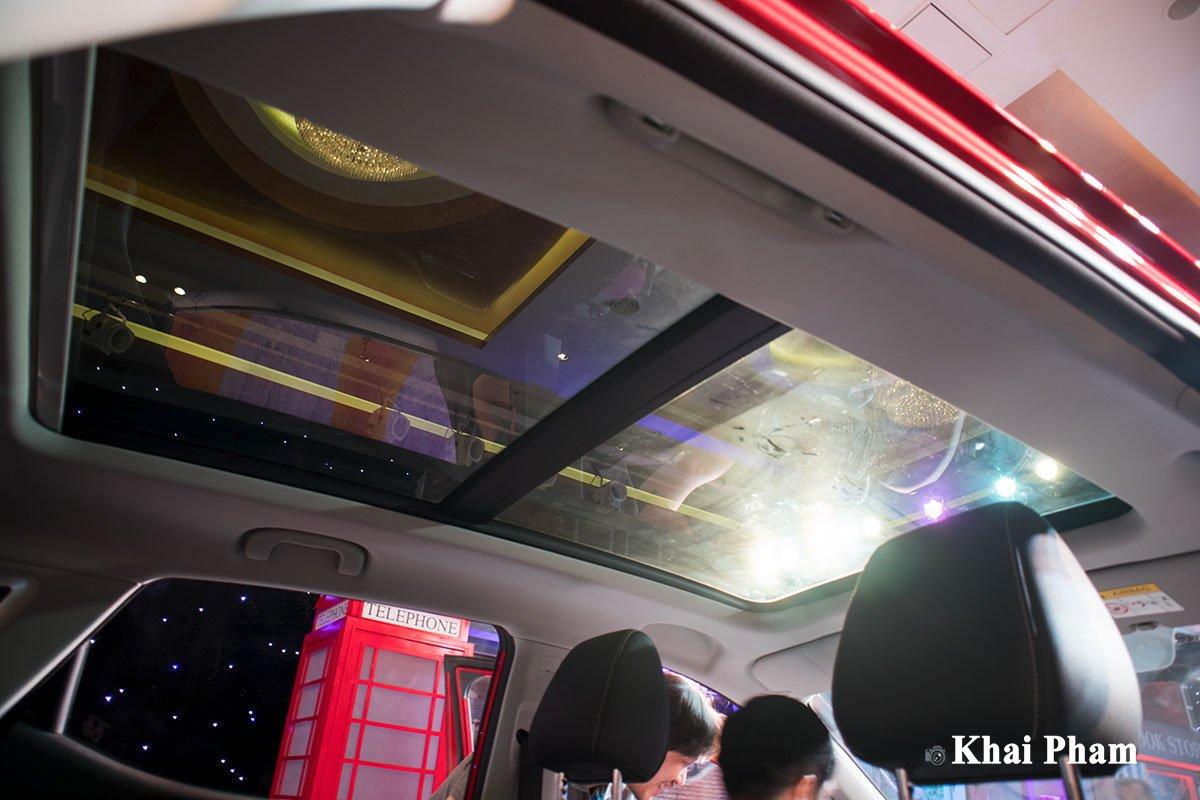 Ảnh cửa sổ trời xe MG ZS 2020