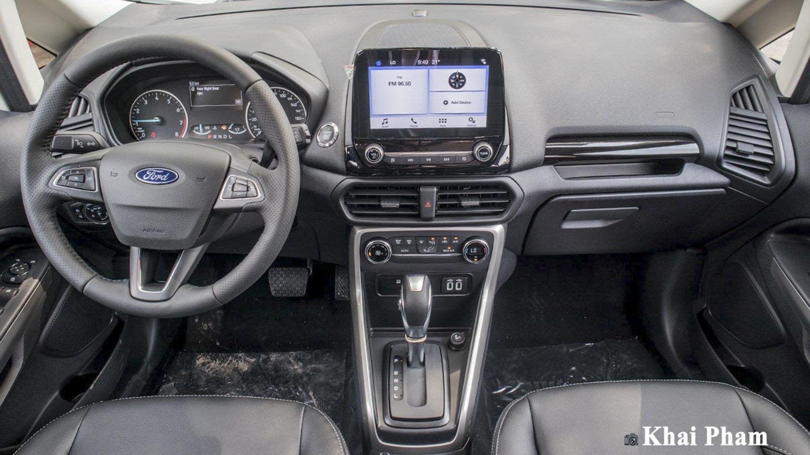 Ảnh Khoang lái xe Ford EcoSport 2020