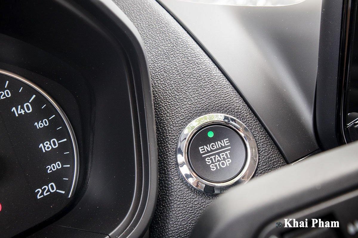 Ảnh Nút khởi động xe Ford EcoSport 2020