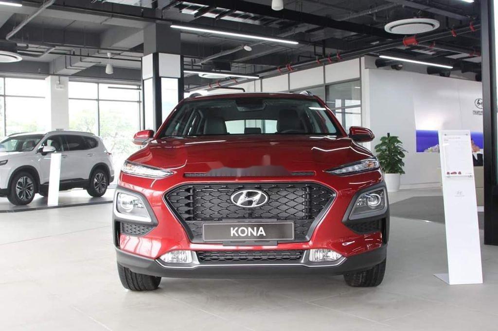 Bán xe Hyundai Kona đời 2020, màu đỏ, giá chỉ 626 triệu (1)