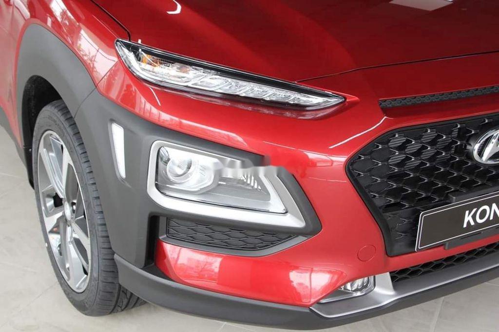 Bán xe Hyundai Kona đời 2020, màu đỏ, giá chỉ 626 triệu (4)