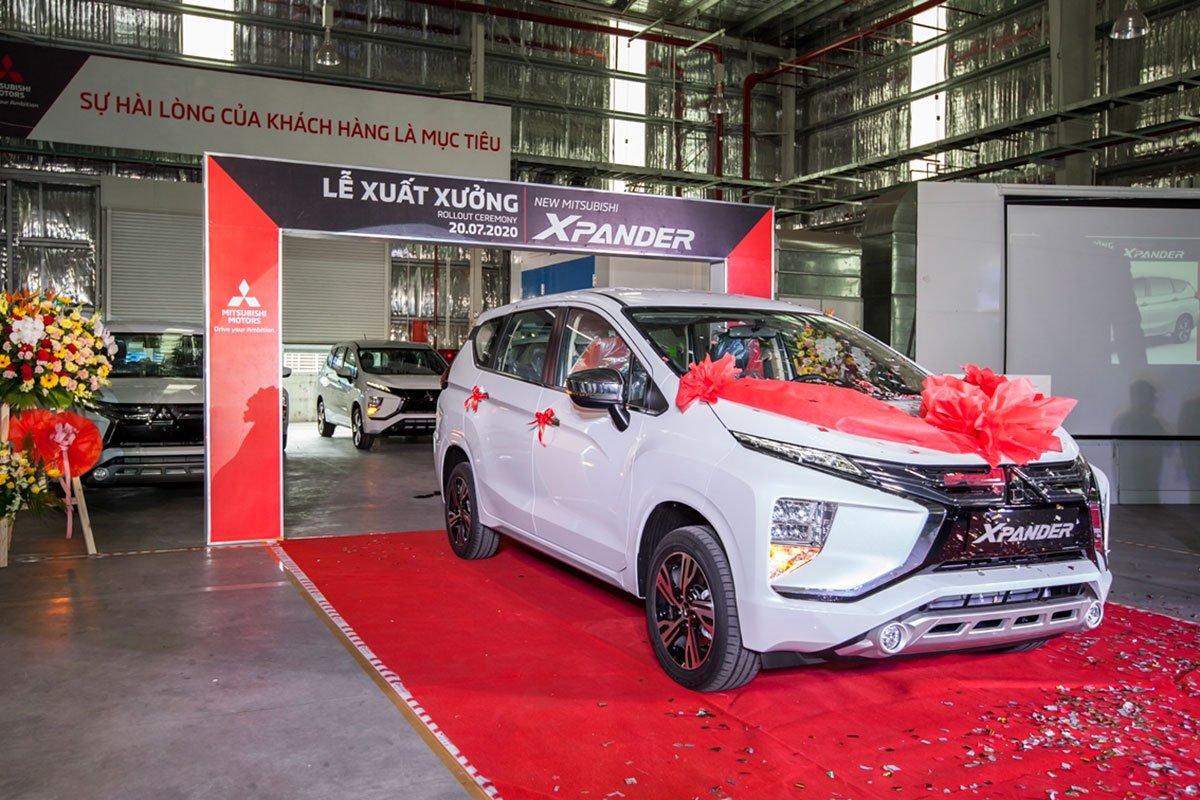 Mitsubishi Xpander 2020 chính thức được lắp ráp trong nước.