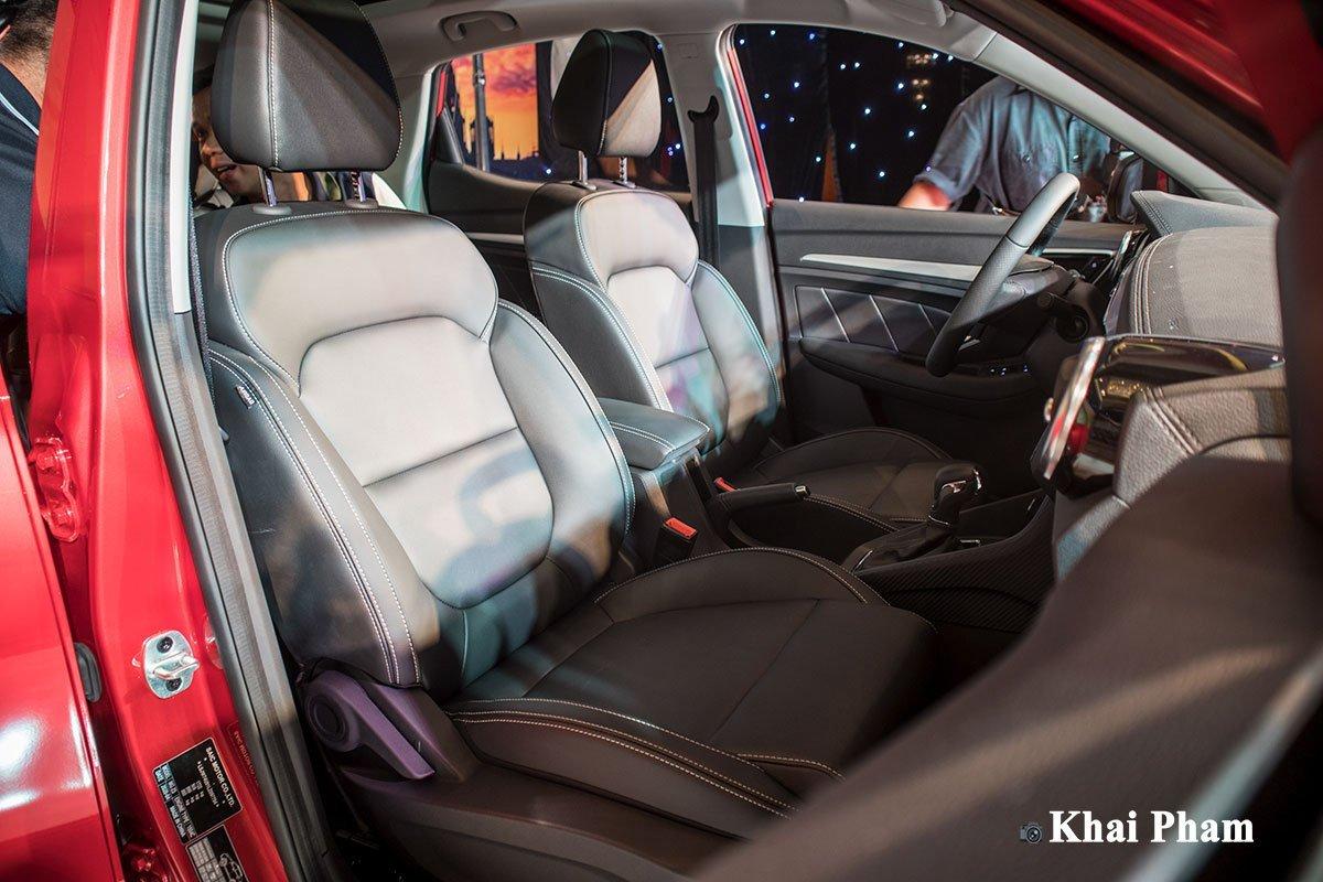Hàng ghế trên MG ZS 2020
