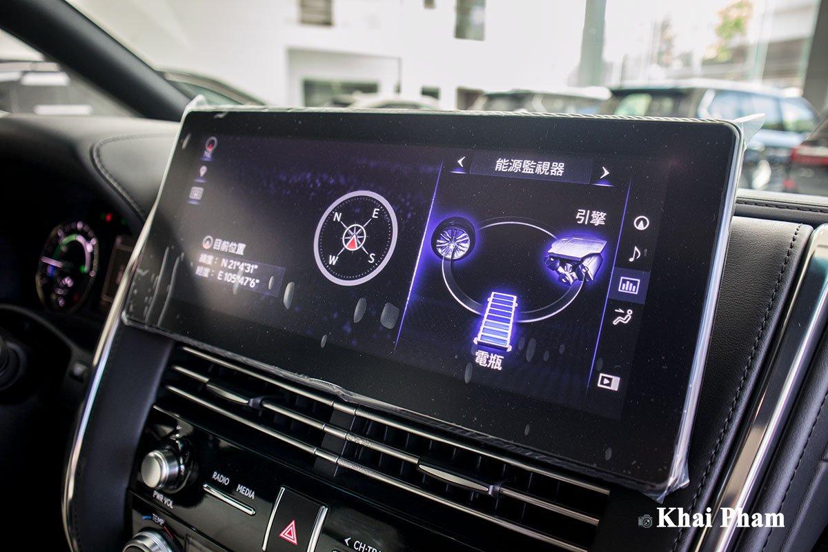 Ảnh Màn hình giải trí xe Lexus LM300h 2020