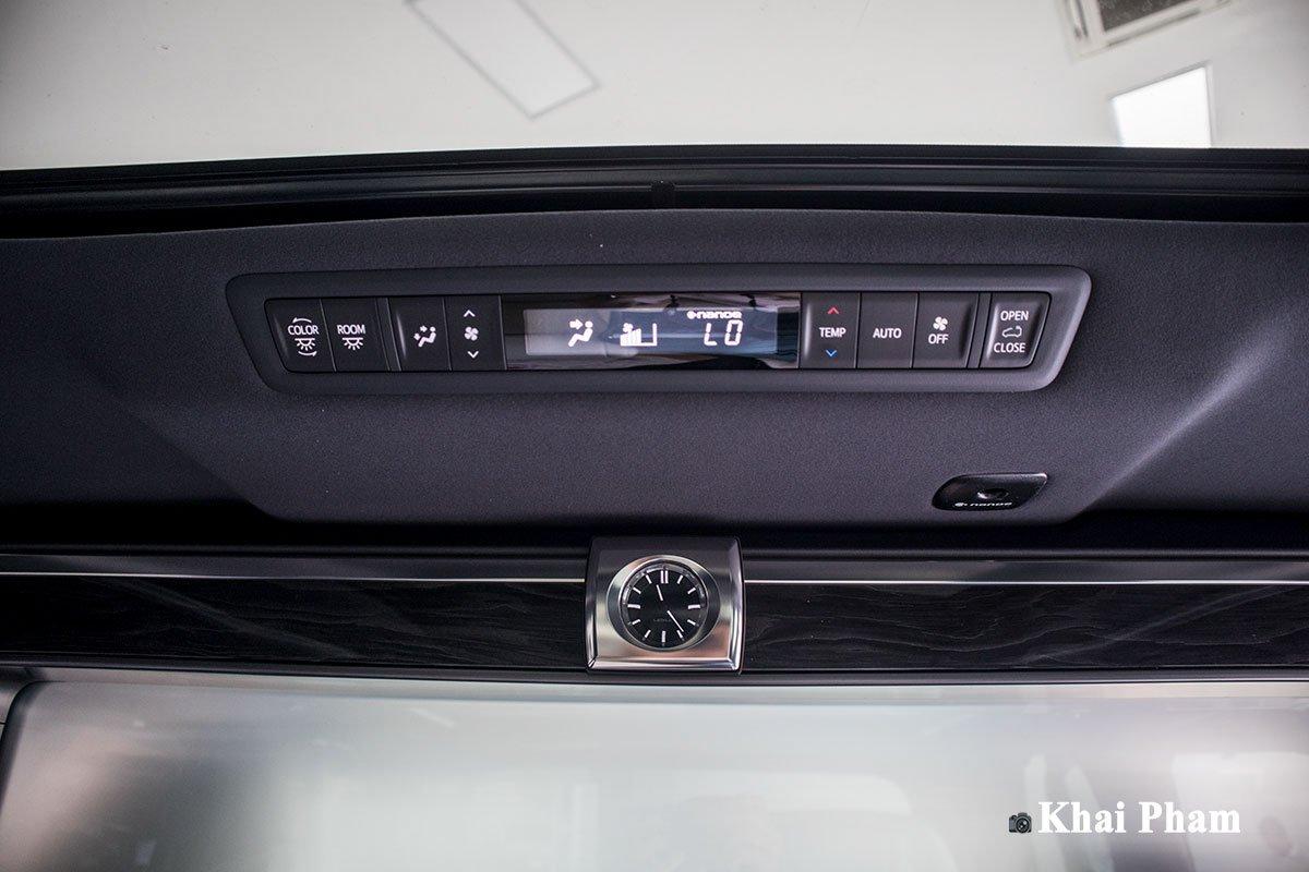 Ảnh Điều hoà sau xe Lexus LM300h 2020