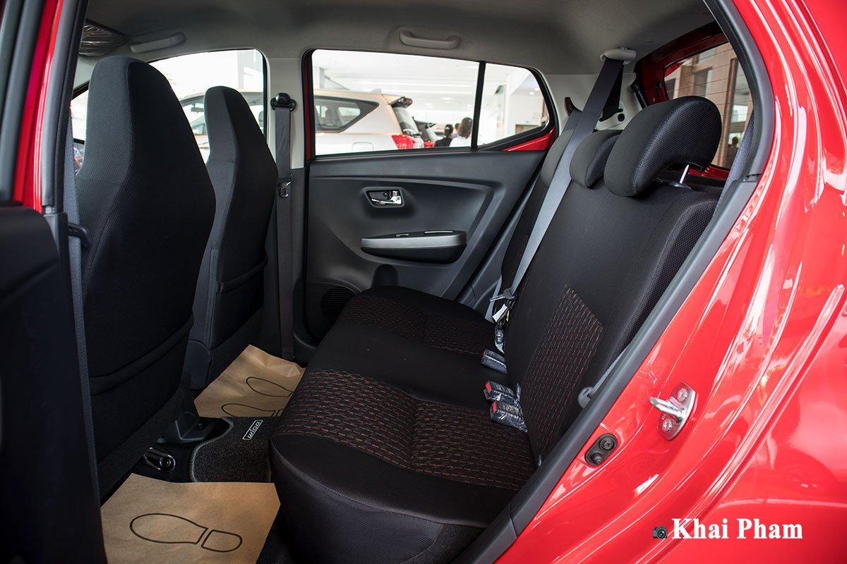 Ảnh Ghế sau xe Toyota Wigo 2020