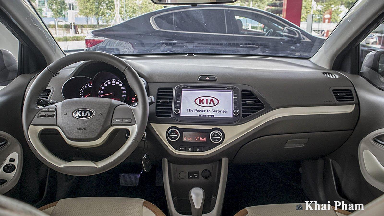 Ảnh Khoang lái xe Kia Morning 2020