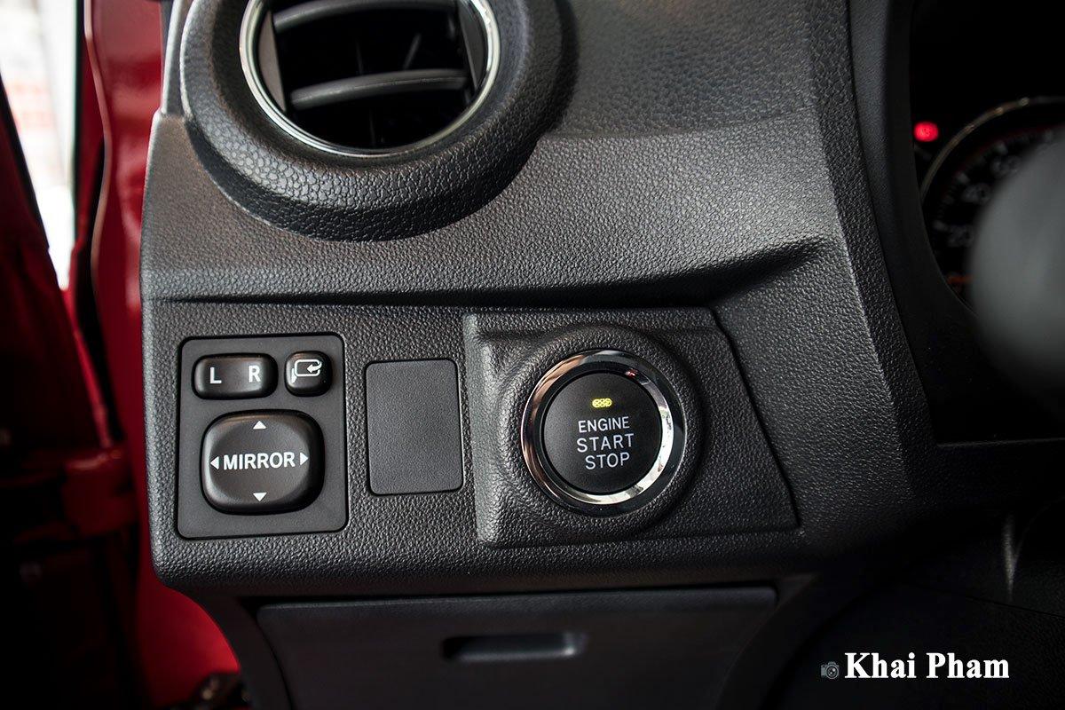 Ảnh Nút khởi động xe Toyota Wigo 2020