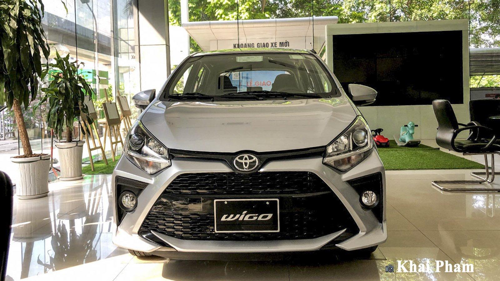 Ảnh đầu xe Toyota Wigo 2020