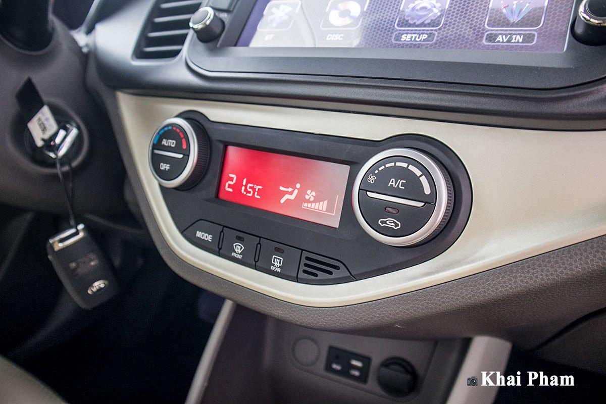 Ảnh Điều hoà xe Toyota Wigo 2020