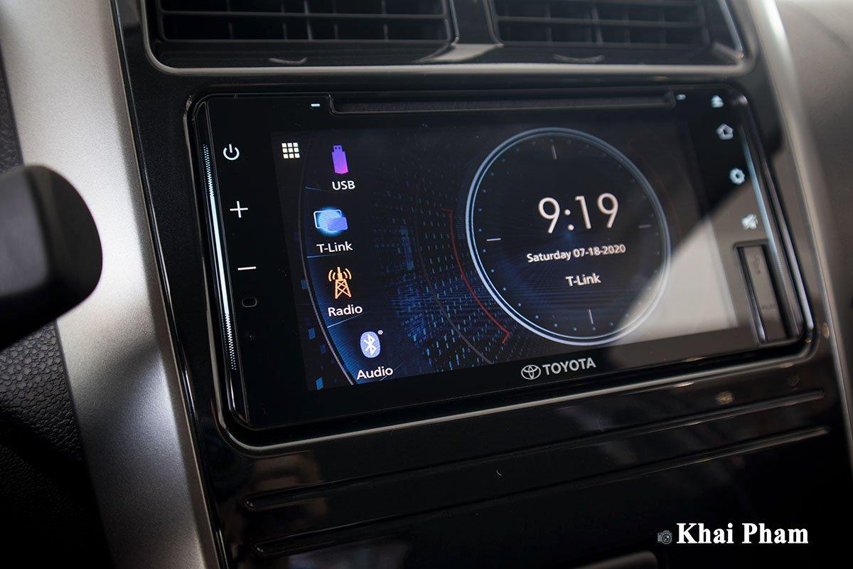 Ảnh Màn hình xe Toyota Wigo 2020