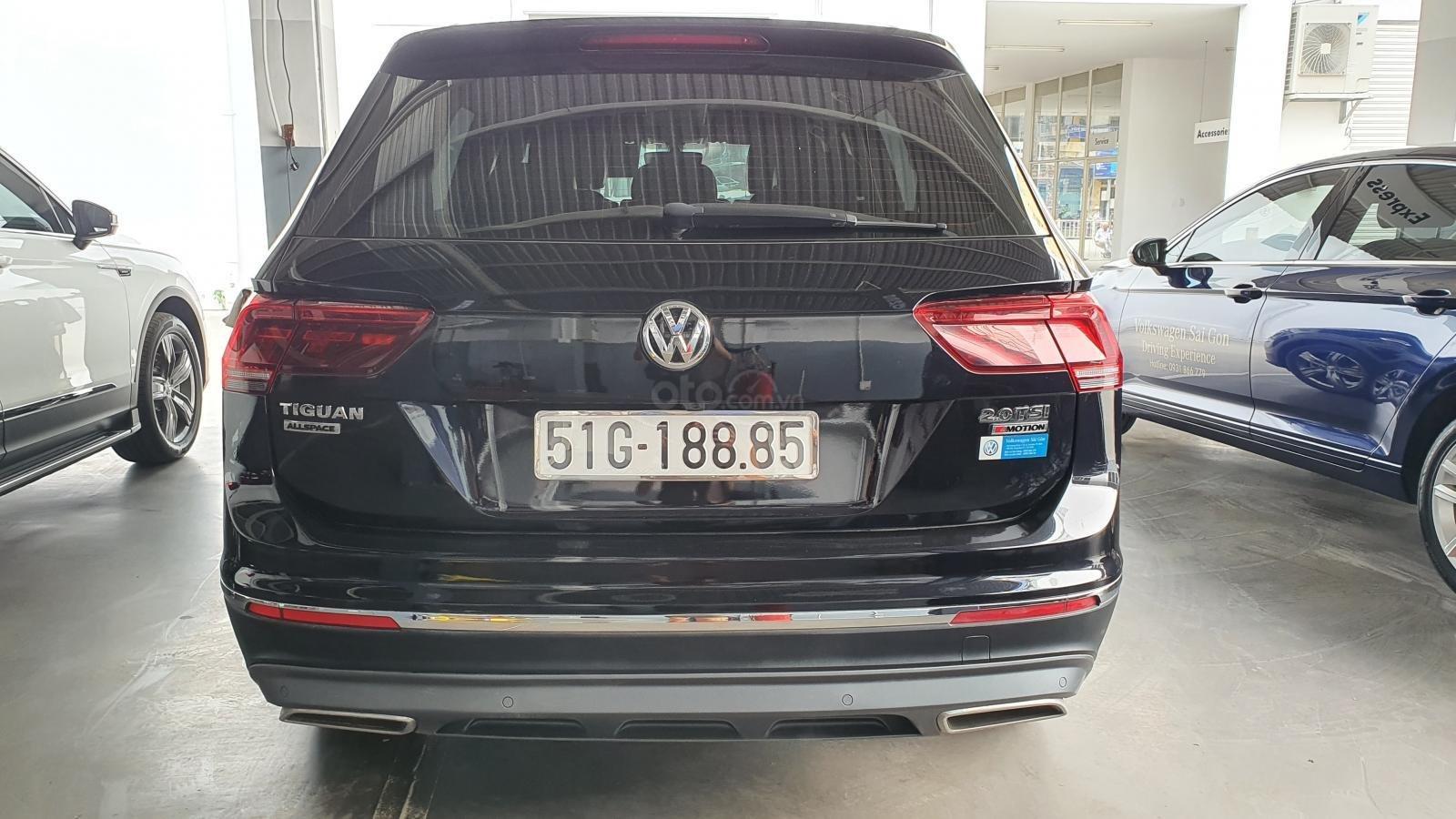 Xe công ty cần thanh lý xe Tiguan Allspace màu đen - nhiều option giá hạt dẻ, liên hệ Mr. Hùng Lâm VW Sài Gòn (5)