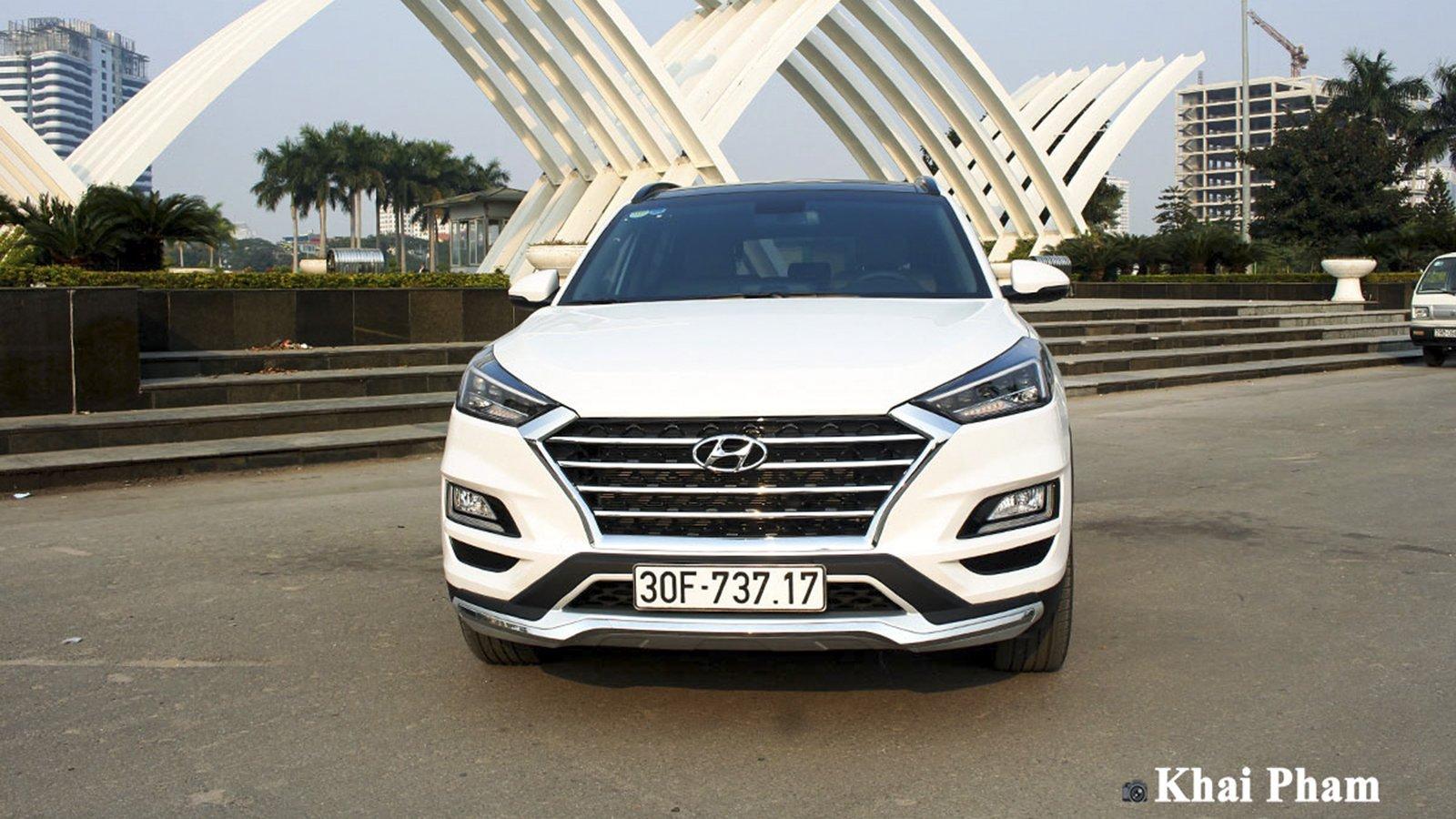 Ảnh đầu xe Hyundai Tucson 2020